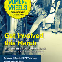 Women on Wheels event at National Cycling Centre on 11th March