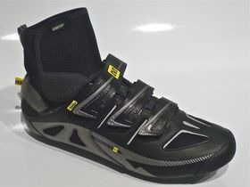 MAVIC Mavic Shoe Frost Black/Silver/Yellow Size 8