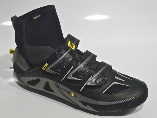 MAVIC Mavic Shoe Frost Black/Silver/Yellow Size 8 click to zoom image
