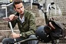 Brompton and Barbour Collaboration Bikes
